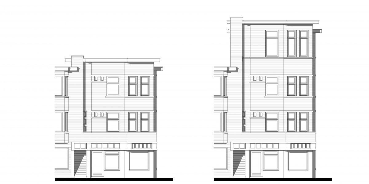 bestaand-en-nieuw-gevelaanzicht-dakopbouw
