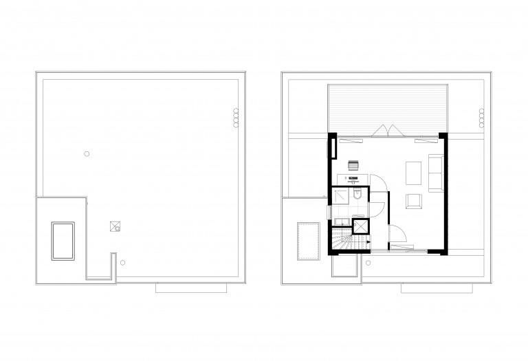 moderne-dakopbouw-a-plattegrond